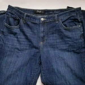 Simply Vera Vera Wang Mid Rise Bootcut Blue Jeans